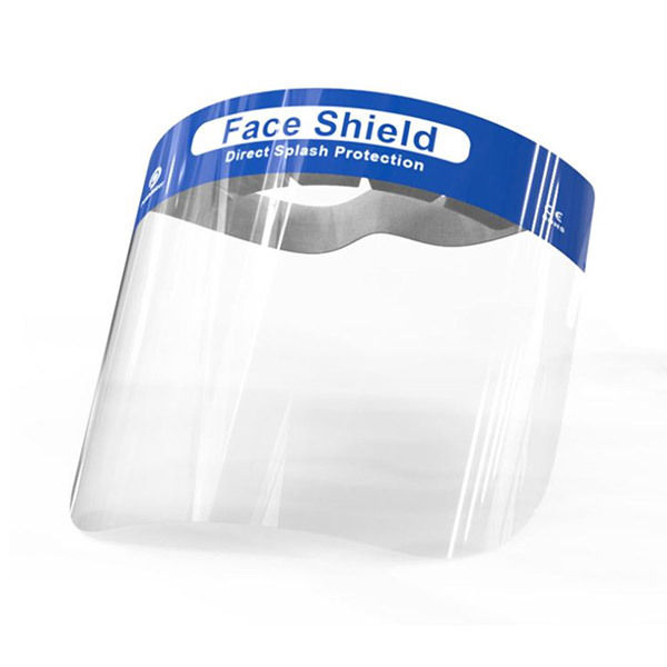 10x Face Shield / Gesichtsvisier - EN 166:2001